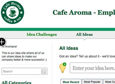 your own idea site